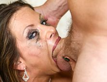 Rachel Roxxx Sucking And Gagging Real Hard On Horny Prick