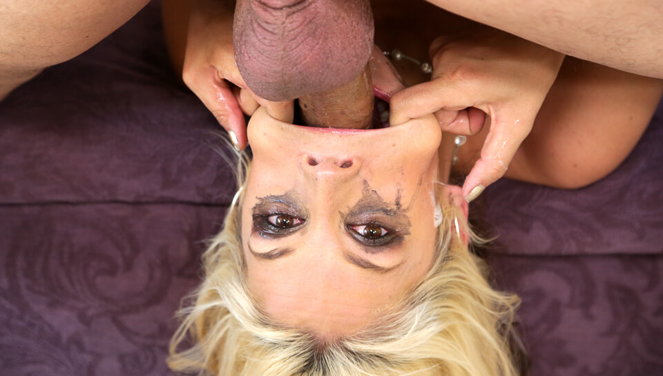Sarah Vandella Loves To Swallow A Huge Cock Very Deep